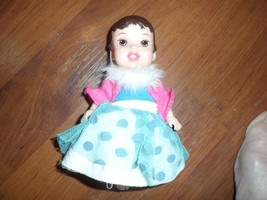 """Disney Princess Baby Doll - Snow White or Belle 6"""". 4 outfits - $6.43"""