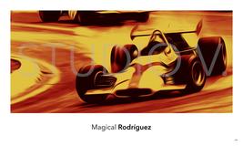 F1 Spa BRM P153 Pedro Rodríguez Photo Poster Quality Cotton Paper Fine A... - $99.00