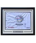 Jordan Spieth Signed Framed 2018 Bridgestone PGA Golf Flag PSA/DNA - $439.55