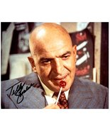 TELLY SAVALAS Signed Autographed 8X10 Photo w/ Certificate of Authenticity  - $38.00