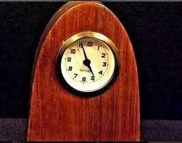 Mercedes Mantle Wooden Clock AB 125 Vintage image 3
