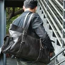 On Sale, Tote Bag, Full Grain Leather Shoulder Bag, Handmade Men Bag, Laptop Bag image 2