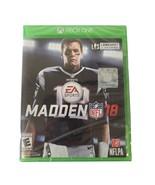 Madden NFL 18: Xbox One Brand New - $6.58