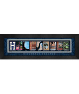 Hillsdale College Officially Licensed Framed Campus Letter Art - $39.95