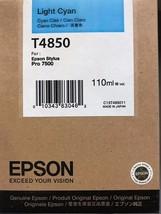 Epson T4850 Light Cyan Ink Cartridge 110ml - $29.65