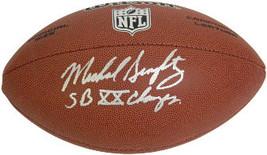 Mike Singletary signed Wilson NFL Super Grip Full Size Rep Football (silver logo - $84.95