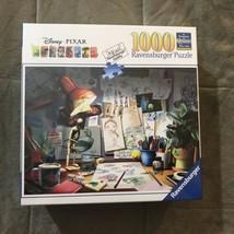 Ravensburger Disney Pixar The Artist's Desk Jigsaw Puzzle 1000 pieces - $26.99