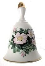 Danbury Mint Sumner Collection Wildflower Bells - Dog Rose Design - May - CLT344 - $25.47