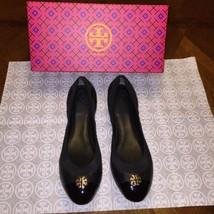 NIB Tory Burch Jolie Ballet Flat Size 9.5 in Black - $186.64