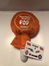 "Orange Tootsie Roll Rolls Pop Pillow Plush Toy 7"" Size New A25 - $12.95"