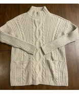 Abercrombie &Fitch Knit High Neck Sweater with Pockets Women's Size XS EUC - $24.74