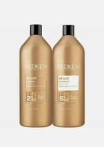 Redken All Soft Shampoo and Conditioner 1000ml Duo - DPD free delivery - $139.84