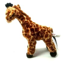 "Aurora Standing Giraffe Plush Stuffed Animal 12"" Lifelike Toy Wildlife - $12.66"