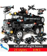 SWAT City Police Series Building Blocks Car  Special Forces Team - $48.96+