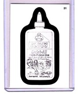 """2013 Wacky Packages All New Series 11 {ANS11} Pencil Art """"ELMO'S GLUE"""" #31 - $1.50"""