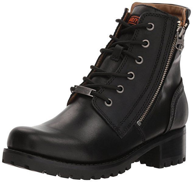 8e3dbed2f486 Harley-Davidson® D84250 Women s Asher Black Motorcycle Boot -  129.99