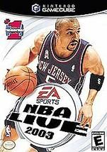 NBA Live 2003 (Nintendo GameCube, 2002) - $1.97