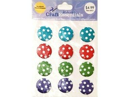 Joann Craft Essentials Adhesive Polka Dot Stickers #46381