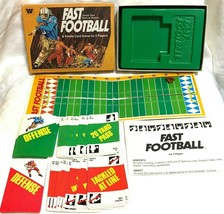 Fast Football Family Card Game Whitman 1977 Coach Team to Victory Complete - $10.88