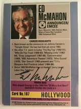 Ed McMahon (d. 2009) Signed Autographed 1991 Hollywood Walk of Fame Trad... - $14.99
