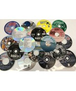 Computer disk lot of 18 CD ROM Games Tomb Raider Fishing Golf ect Sold f... - $18.69