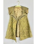 Authentic 18th Century Vest 1700s Sterling Silver Trapunto Handmade turkish - $727.09