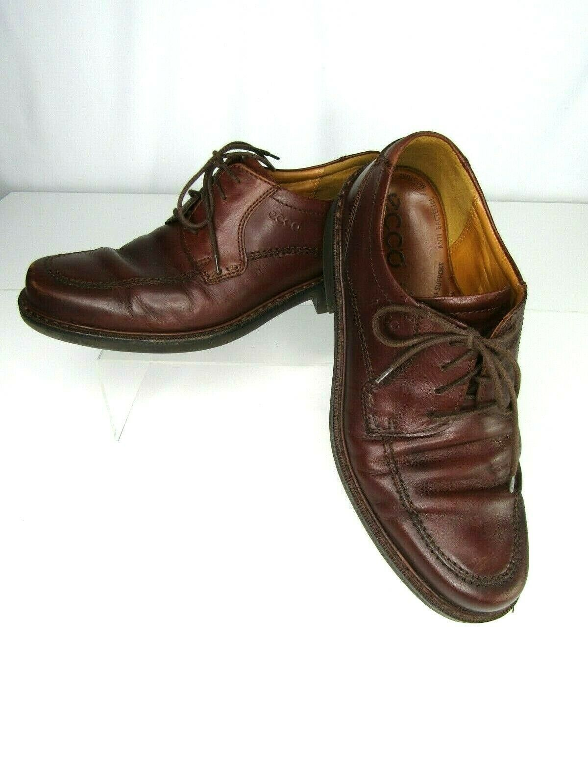 Ecco Brown Leather Apron Toe Lace Up Men's and 23 similar items