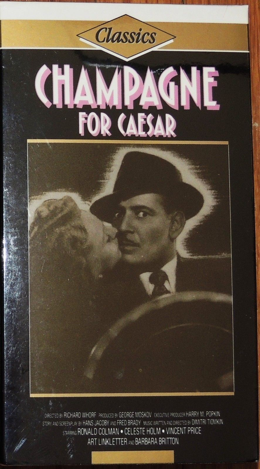 Primary image for NEW VHS Champagne for Caesar: Ronald Colman Celeste Holm Vincent Price B Britton