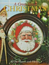 """Hard Cover- """"A- Cross-Stitch Christmas - From Hand & Heart"""" - Craftways ... - $20.00"""