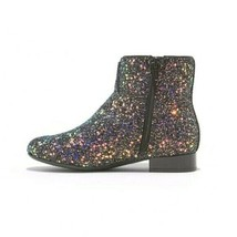 Art Class Shoes Girls' Black Pink MultiColor Lexi Glitter Fashion Ankle Boots image 2