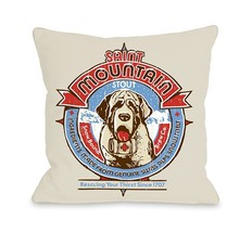 One Bella Casa Saint Mountain Pillow, 20 by 20-Inch - $55.79