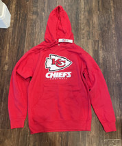 KANSAS CITY CHIEFS Football NFL Team Apparel Hoodie Sweatshirt Red Size ... - $44.55