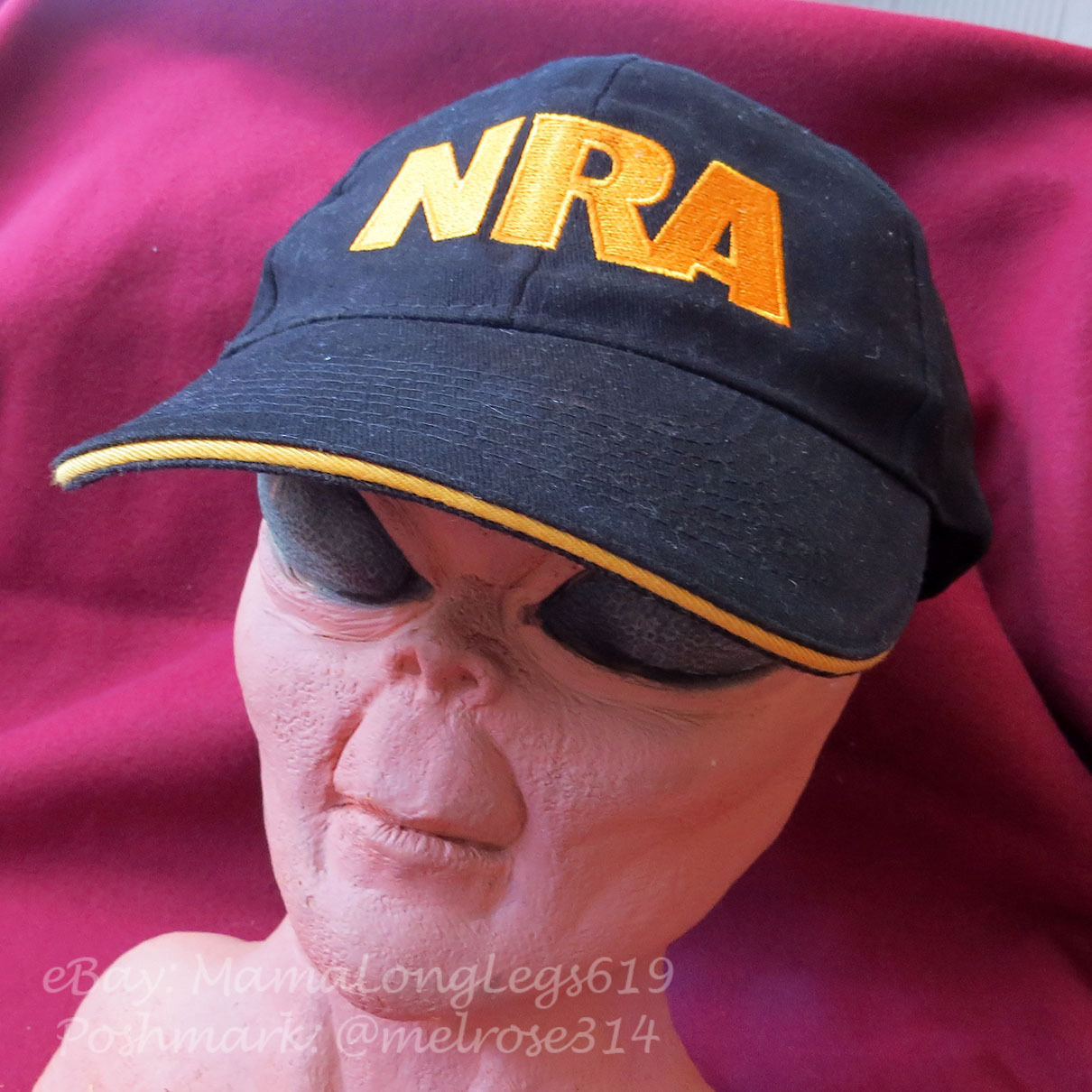 NRA Hat National Rifle Association Member S.A.T.F Snapback Eagle American Flag