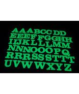 50 Piece Glow in the Dark Alphabet Set - $8.50