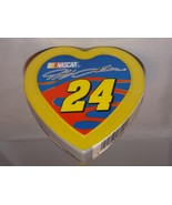 Collectible Plastic Candy Heart Nascar Jeff Gordon #24 Dupont Race Car D... - $7.59