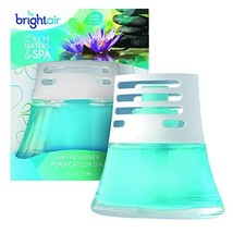 BRIGHT Air 900115CT Scented Oil Air Freshener, Calm Waters and Spa, Blue, 2.5oz