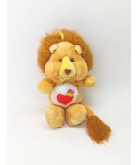 VTG 1984 Care Bear Cousins Brave Heart Lion Plush Kenner 13 Inch NICE No... - $15.74