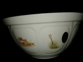 Aynsley Edwardian Kitchen Garden Fine Bone China Made England 6.75 Pudding Bowl - $16.99