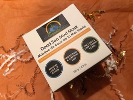 BRAND NEW IN BOX Organics Dead Sea Mud Mask, 8.8OZ, Extract Dead Cells Exfoliate - $17.95