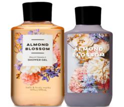 Bath & Body Works Almond Blossom Body Lotion + Shower Gel Duo Set - $26.41