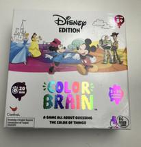 Color Brain Card Game Disney Edition Cardinal Big Potato Games Guessing ... - $28.71