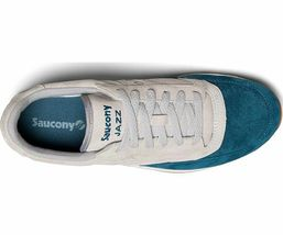 Saucony Jazz Original  Men's Shoe Grey/Teal, Size 8.5 M image 4