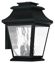 Livex Lighting 20235-04 Hathaway 3-Light Outdoor Wall Lantern, Black - $96.88