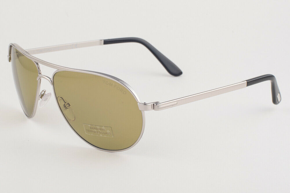 Primary image for Tom Ford Marko Rhodium / Green Sunglasses TF144 18N