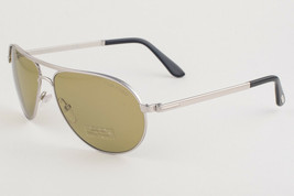 Tom Ford Marko Rhodium / Green Sunglasses TF144 18N - $195.02