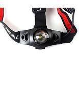 500LM LED Waterproof Headlamp Zoomable Zoom Head Light Torch Bike Hiking - $13.55