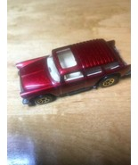 Hot Wheels 55 Chevy Nomad Station Wagon Vintage Toy Red Glitter Sparkle ... - $6.18