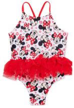 MINNIE MOUSE DISNEY UPF-50+ Swim Bathing Suit NWT Toddler's Sz. 2T, 3T o... - $18.01