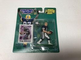 TROY AIKMAN 2000 FOOTBALL 2001 NFL STARTING LINE UP FIGURINE DALLAS COWBOYS - $7.91
