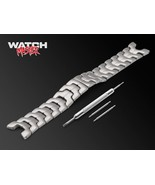 21mm For TAG Heuer Link Watch Stainless Steel Bracelet Strap Band Silver... - $47.90